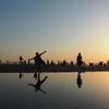 2021年5月 四国【5/7】撮り方にコツがいる父母が浜のウユニ塩湖写真、こんぴら参り、骨付鳥!香川満喫の旅。