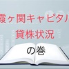 霞ヶ関キャピタルの貸株状況 発表