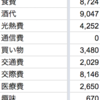 2016年12月の生活費〜年間支出は83万円でした〜