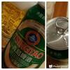 海外帰りの青島ビールのお話