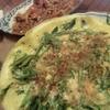 チヂミ風葱とささげの卵焼き(あっさり)
