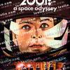 「2001年宇宙の旅/2001: A Space Odyssey」の映画ジャケット イラスト
