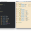 Linuxメモ : 「exa」Rustで書かれたカラフルなls代替コマンドを試す