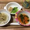 夜ごはんと離乳食☆コープの汁なし担担麺  料理しない日