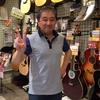 Circle Of Fingerpicking 出演アーティストの大沼靖史さんが当イベント後ご来店されました!!