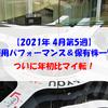【株式】週間運用パフォーマンス&保有株一覧(2021.4.30時点) ついに年初比マイ転!