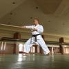 税理士会の研修があったんだけど、あまりに退屈だったので、抜け出して、武道館で練習してみた。