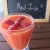 今日のジュース「Power of Red Juice!!」