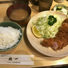 丸一でロースかつ定食(蒲田)