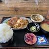 〝らしさ〟を求めること、豚キムチとトンカツ定食( ご飯大盛り)