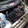 エンジン不調のモビリオ、イリジウムプラグへ交換
