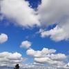 昼から晴れた空の雲