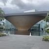 静岡県富士山世界遺産センター 建物の形にびっくり 館内を登山しながら見学 文化遺産に登録済み