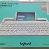 logicoolの外付けキーボードK480を使うとタブレットでの長文入力が楽でいいよ。