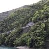 大井川鉄道井川線⑤ 長島ダム駅 -ミステリートンネルを通ってアプト式の急勾配を見に行く