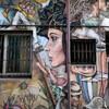 台南:新美街の壁画
