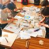 木版画教室@伯方島しまなみ交流プラザ(思わぬ形で版画脳の存在を知った話)