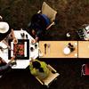 キャンプ用テーブルはこれで決まり!ジカロテーブルは万能!小さい子供がいても安全!