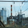 工場をダイナミックに潜り抜ける「岳南電車」に乗りに行く(2014年)