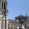 火災後のノートルダム大聖堂に行ってきました。