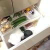 冷蔵庫掃除。わが家のタイミングは、日曜日