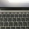 新しいMacbookProのタッチバーとタッチIDについて