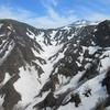 残雪の奈曽渓谷。