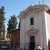 アッピア街道の古い教会