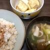ザーサイとキノコのスープと揚げ出し豆腐の作り方
