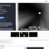 【Unity】Simple Particle Pack(シンプルパーティクル)で爆発を表現