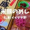 【松本駅弁】イイダヤ軒で豚肉駅弁は貴重「米豚のめし」2017年新作弁当だぞ