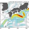 黒潮大蛇行と1月の東京の天気