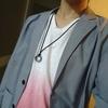 グレーのジャケットを購入しました。休日は早速着てお出かけしようと思うので、お洒落に着こなしたいと思います。