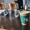 立石の「YAZAWA COFFEE ROASTERS」でカフェラテ。