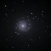 C-14 で写す M74 うお座 渦巻銀河 & 台風横断