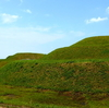 金山古墳を探訪。全国的に珍しいヒョウタン形な双円墳【大阪府河南町】