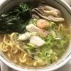 ストック食材と冷凍庫食材処分、ラーメン麺神醤油味+豚キムチ春雨