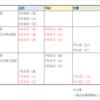 社労士試験情報☆TAC、LEC、大原模試スケジュールまとめ