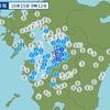 熊本地方で震度3 揺れる範囲が広い