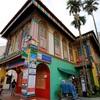 シンガポール街歩き#249(リトル・インディアの歴史的建造物と三毛猫)