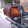 バイク用サドルバッグ完成