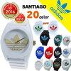 アディダス サンティアゴ ホワイト ブラック 人気 白 黒 timing adidas originals SANTIAGO クオーツ メンズ 腕時計