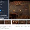 【新作無料アセット】中世の図書館でもお静かに!石造りの部屋に大きな本棚と書物。モジュール型で改造可能なクオリティの高いファンタジールームが無料で新登場「Full Medieval Room」