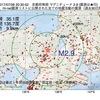 2017年07月26日 20時30分 京都府南部でM2.9の地震