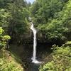 滝色が見えた一筋の流れ。秋田県鹿角市『曽利の滝』