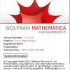 Mathematica 11.0.1 が Raspberry Pi で使えるようになった