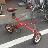 懐かしい自転車が修理にきました。 ブリヂストンサイクル トランジットコンパクト