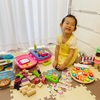 ♪1500円OFFで利用できるご紹介キャンペーン中♪ 2歳9か月の娘に届いたおもちゃをご紹介