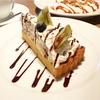 ゴロゴロ食感が楽しい♡チョコチップとバナナのタルト(MERCER CAFE DANRO @恵比寿)