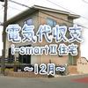 電気代収支(2020/12 i-smart住宅)
